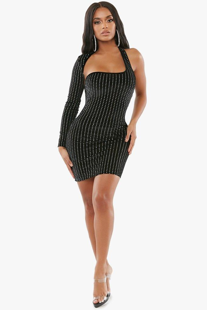 Diamonds In The Sky Bodycon Dress