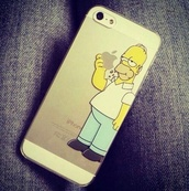 jewels,iphone 6 plus,t-shirt,iphone,iphone cover,iphone 5 case,homer simpson,apple,transparent,homer,the simpsons,iphone case,homersimpson  #homer #iphone #white,blouse,shoes,dress,skirt,phone cover,little black dress,bag,homer eating,home decor,nail polish,case for iphone 4/4s/5,jeans,clear,case for 5s,cover,hair accessory