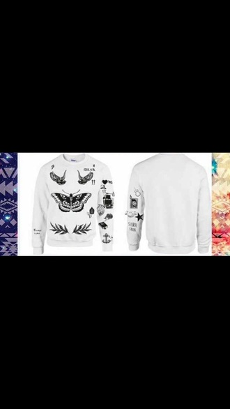 harrystylestattoos harry styles tattoosweater