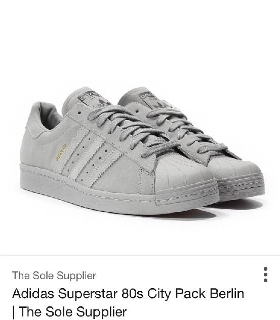 on feet at buy good official site ADIDAS SUPERSTAR 80's City Pack Berlin