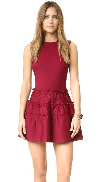 dress ruffle dress ruffle
