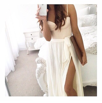 top bustier cropped dressy skirt light pink bustier dress nude bustier summer outfit dress