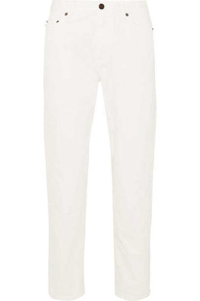Saint Laurent jeans boyfriend jeans boyfriend white