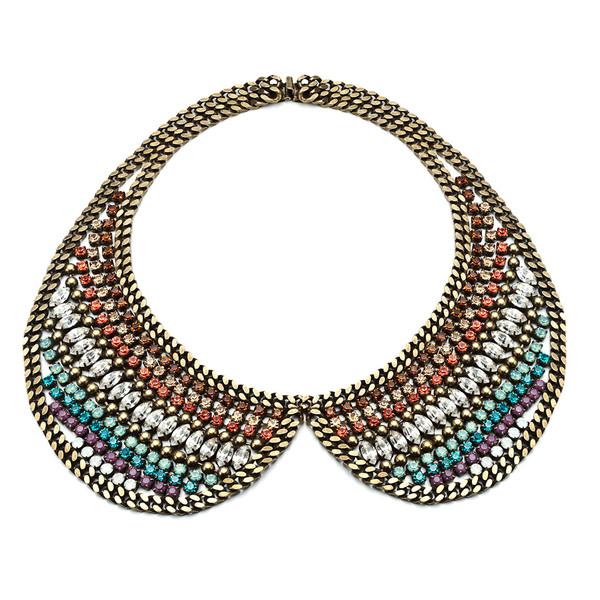 perter pan collar necklace jewels