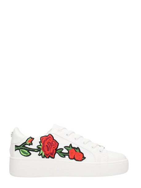 Steve Madden sneakers leather white shoes