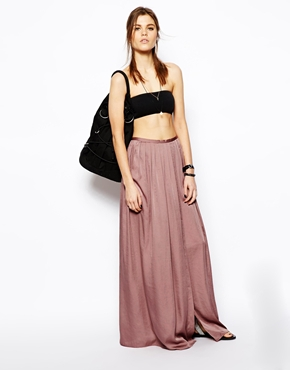 ASOS | ASOS Soft Split Maxi Skirt at ASOS