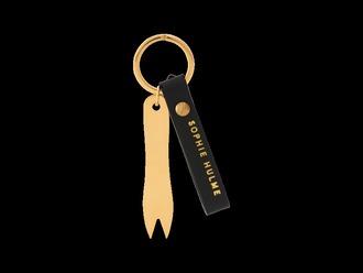 bag bag charm fash n chips keychain