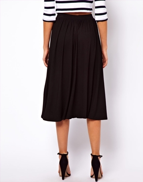 ASOS | ASOS Full Midi Skirt at ASOS
