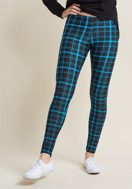 Modcloth leggings plaid pants