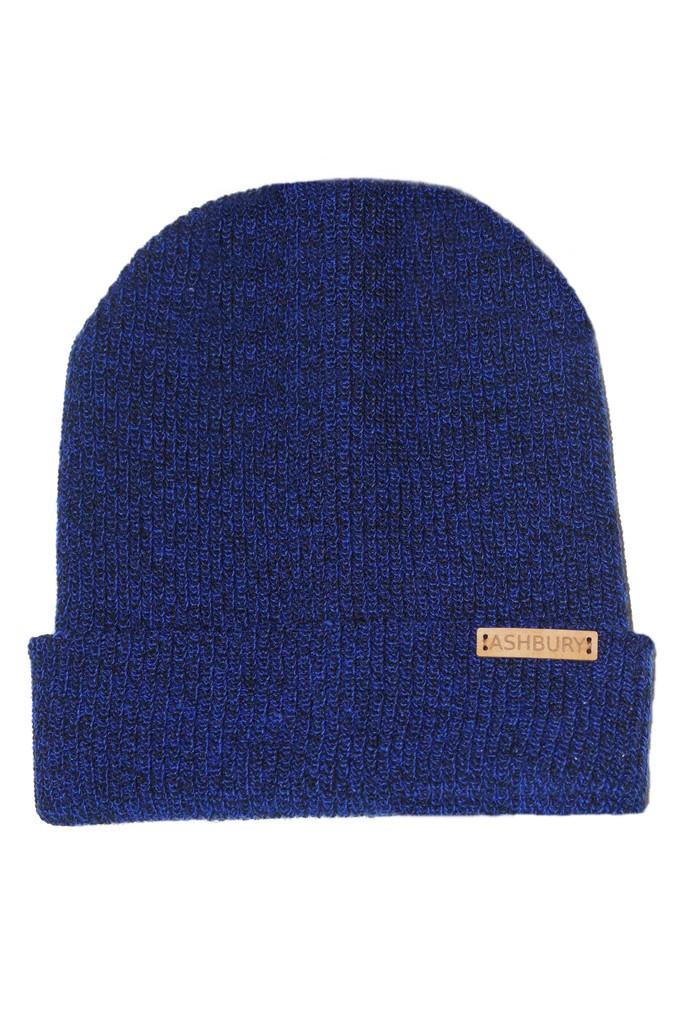 Blue ashbury beanie