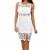Bridget White Lace Dress | Emprada