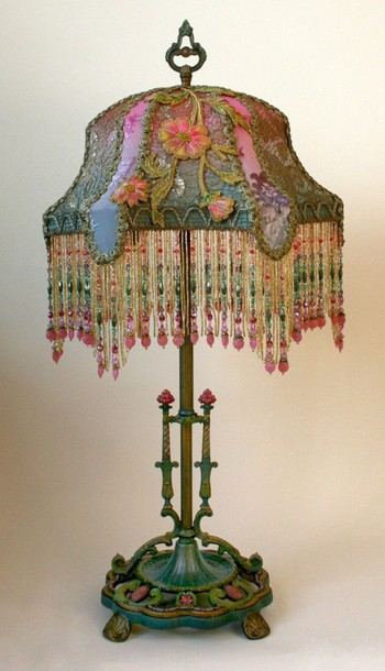 Home Accessory Lamp Boho Beaded Lamp Boho Lamp Bohemian Boho Bedroom  Bohemian Bedroom Bedroom