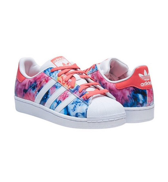 shoes, adidas, adidas superstars, multicolor