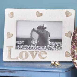 home accessory wood photo frame love heart gift ideas wedding