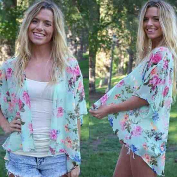 sweater floral spring outfits floral sweater cropped sweater