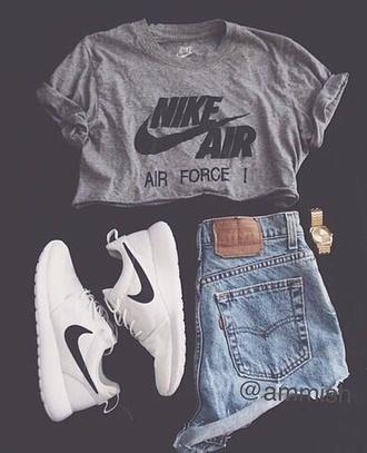 shirt nike running shoes nike air nike sneakers t-shirt nike sweater nike shoes crop tops shorts style high waisted shorts shoes
