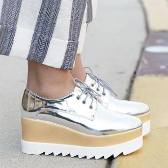 Metallic Platform Shoes - Shop for Metallic Platform Shoes on ...