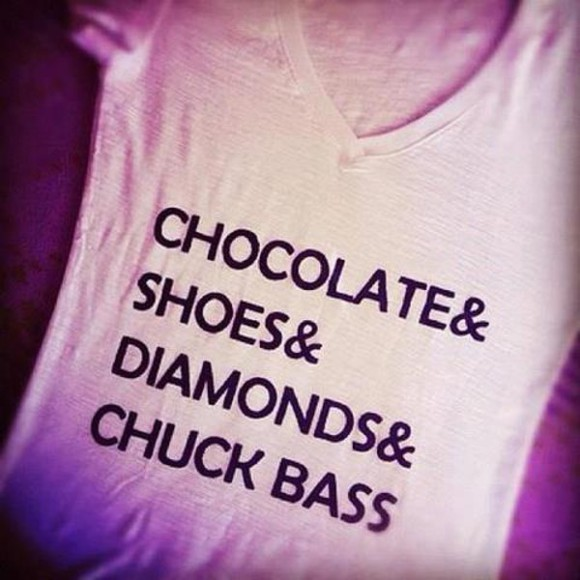 gossip girl amazing chuck bass t shirt with a quote gorgeous love it quote on it