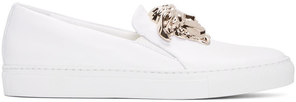 VERSACE sneakers white shoes