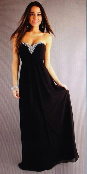 dress prom black gown glitter long dress long black dress prom dress prom dress