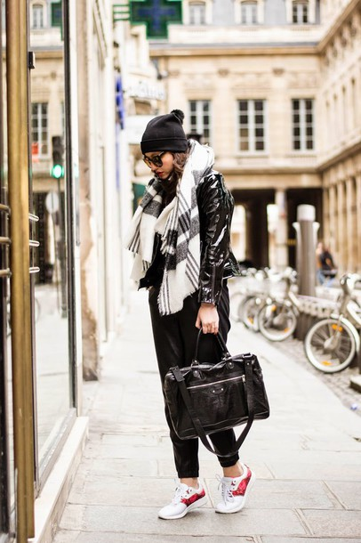 meet me in paree blogger top shoes bag jacket pants