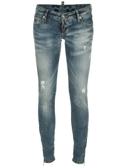 Dsquared2 Distressed Skinny Jean -  - Farfetch.com