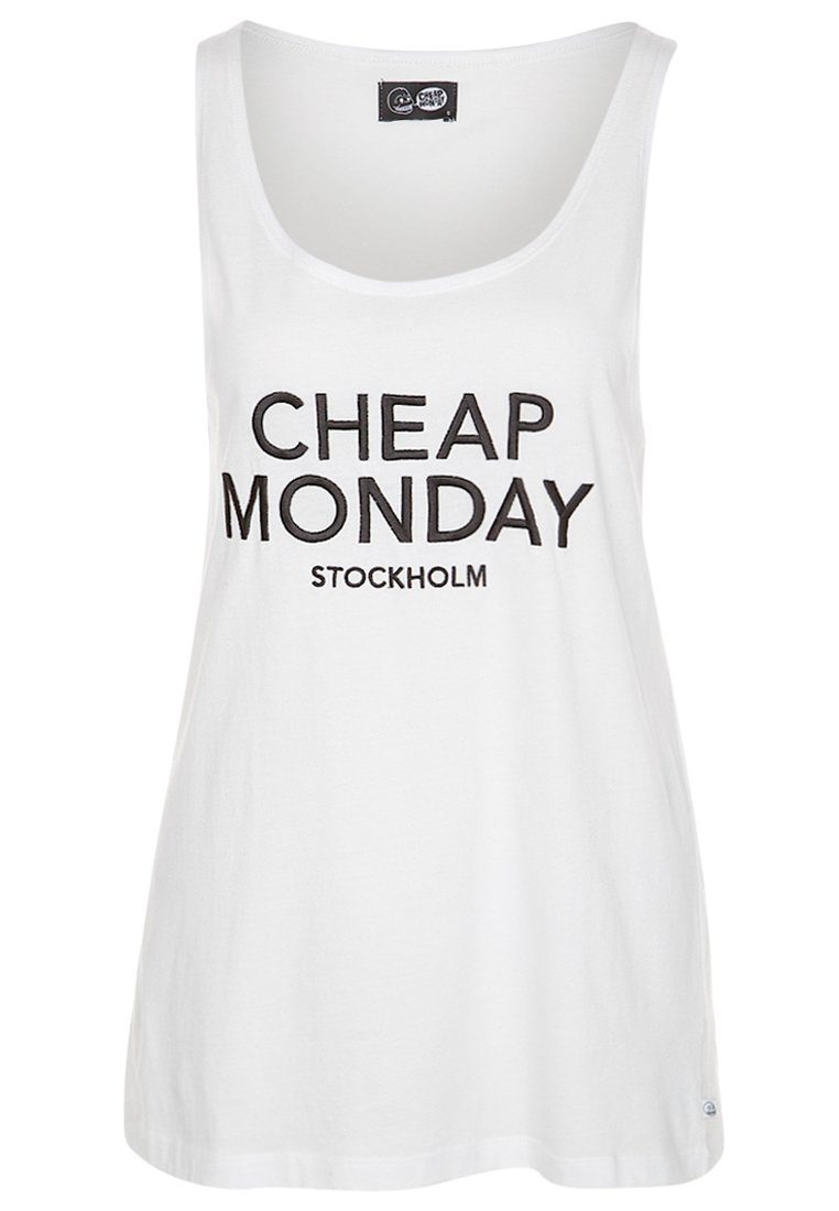 Cheap Monday NOMI - Top - white - Zalando.de