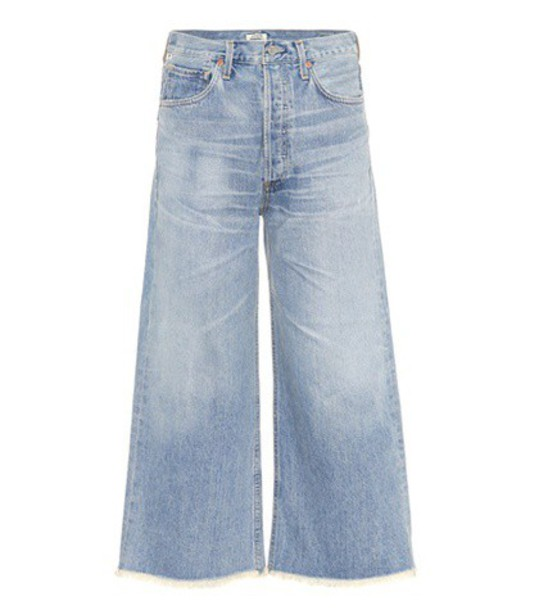 CITIZENS OF HUMANITY jeans cropped jeans cropped blue