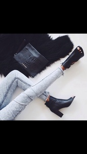 shoes,bag,black,peep toe,peep toe boots,crocodile,leather black shoes,open toes,black boots,jeans,black shoes,boots,cute,leather,fur,black booties,little black boot,heels,cut-out,leather boots,ankle boots,open toe heels,booties,heeledbooties,black heels,heeled shoes,black peep toe boot heels,peep toe heels,peeptoe boot heels,minimalist shoes,black bag,skinny jeans,fall outfits,chic,fashionista,black ankle boots,tip toe,leather sandals,zara shoes,underwear,fashion week 2016,fashion and style,clothes