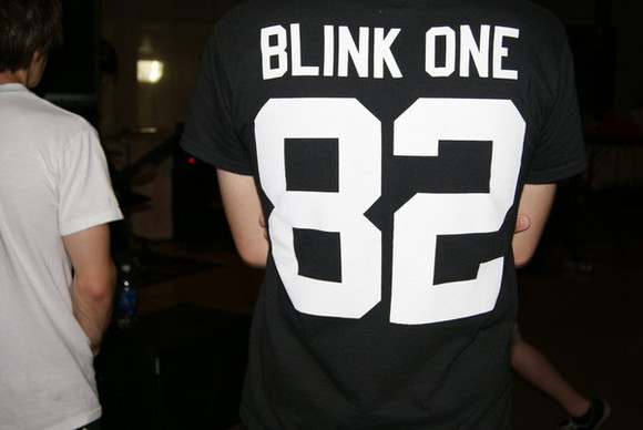 jersey band blink 182 band t-shirt band shirts