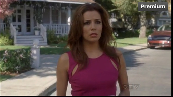 desperate housewives dress gabrielle solis eva longoria fuchsia dress cut-out dress gabriel solis