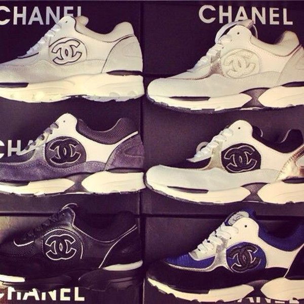shoes sneackers chanel