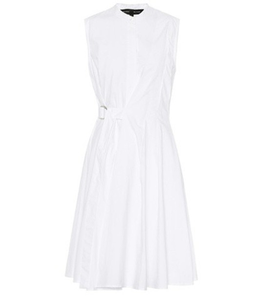 Proenza Schouler dress shirt dress cotton white