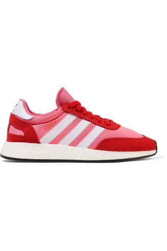suede sneakers sneakers suede pink neoprene shoes