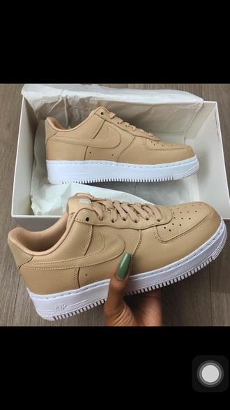 shoes nike beige nike sneakers nude sneakers low top sneakers