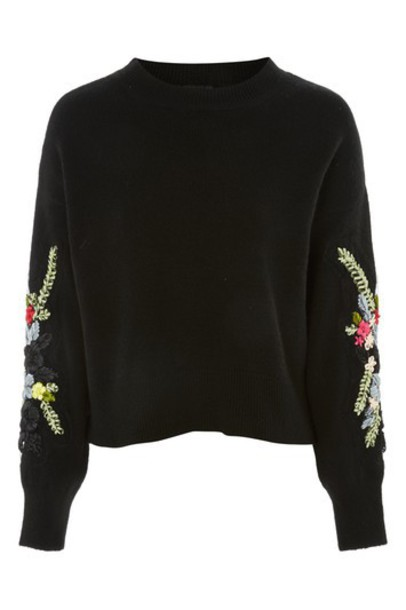 Topshop jumper black sweater