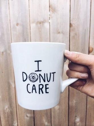 home accessory mug donut