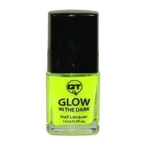Amazon.com: QT Glow In The Dark Neon Nail Lacquer Nail Polish Neon Yellow 0.5 Oz / 15ml Made In USA: Beauty