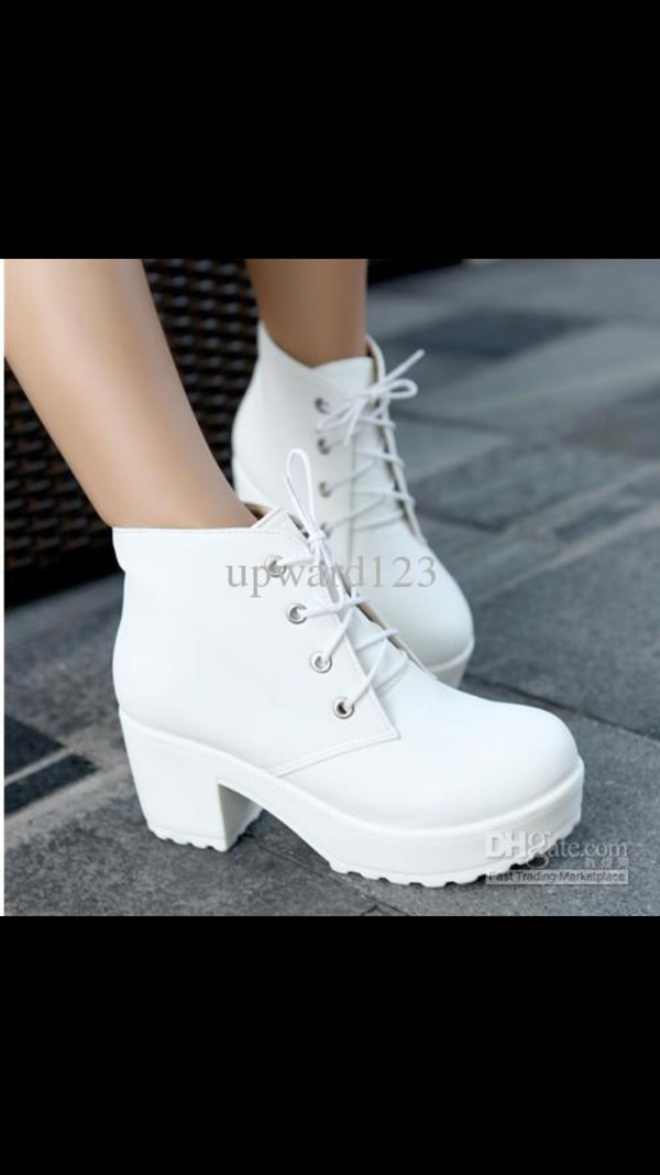 shoes white platform boots white platform heels boots platform shoes white boots heals