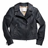 Coach :: LEATHER MOTORCYCLE JACKET
