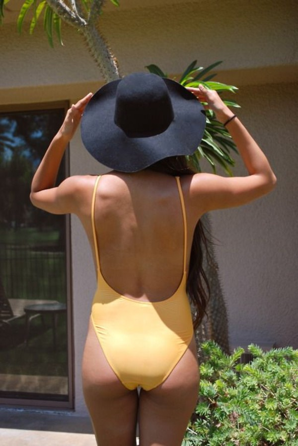 swimwear open back