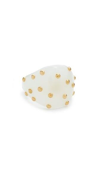 ring white jewels