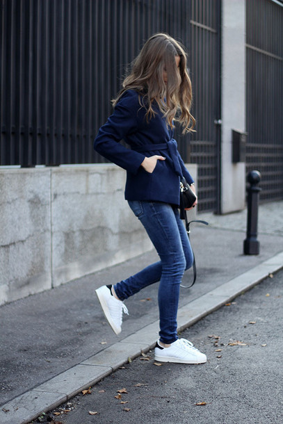 fashion and style blogger shoes jeans t-shirt coat bag jewels