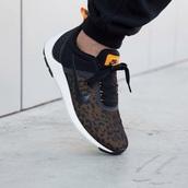 shoes,nike,nike free run,boots,swag,leather,orange,neon,exo