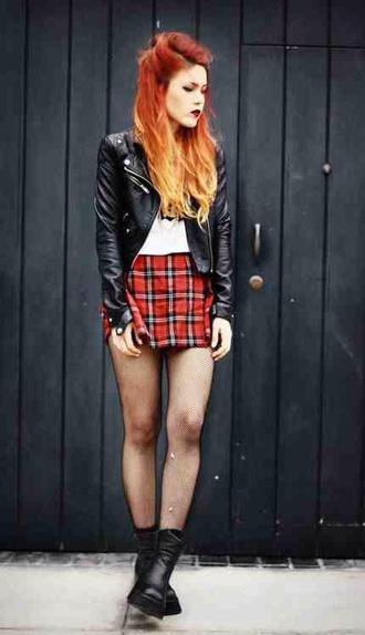 punk jacket leggings