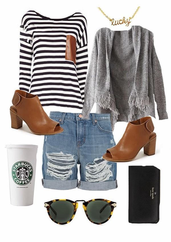 hello fashion t-shirt sweater jewels shoes shorts sunglasses