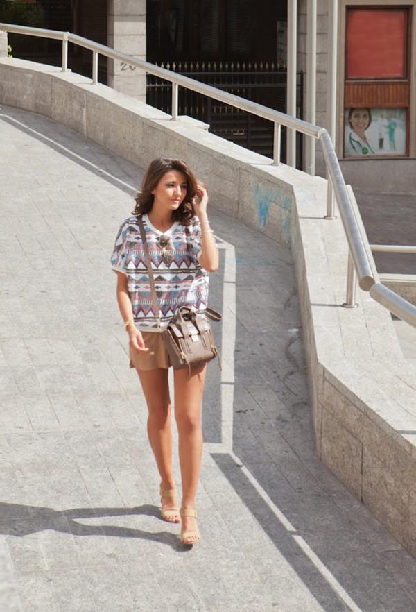 lovely pepa top shorts shoes bag sunglasses jewels