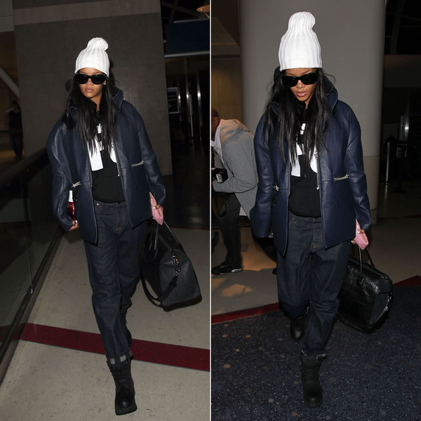 jacket rihanna jeans boots shoes bag handbag hoodie shirt