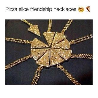 jewels friends necklace pizza www.ebonylace.net hair accessories