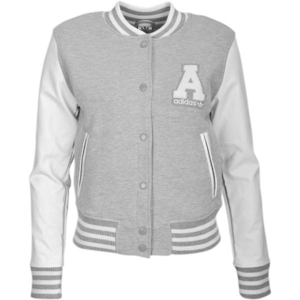 adidas Originals College Letterman Jacket Women's - Polyvore